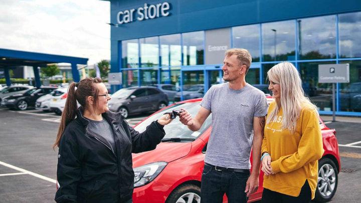 Car Store Handover