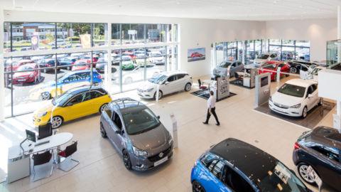Evans Halshaw Vauxhall Leeds Showroom