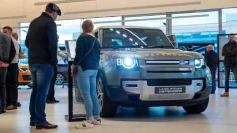 Stratstone Land Rover Defender Launch