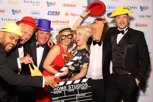 Celebrations at the Pendragon PLC Awards.