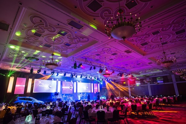 Pendragon PLC Awards 2017 interior.