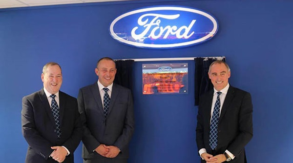 Employees at the Ford Store Preston.