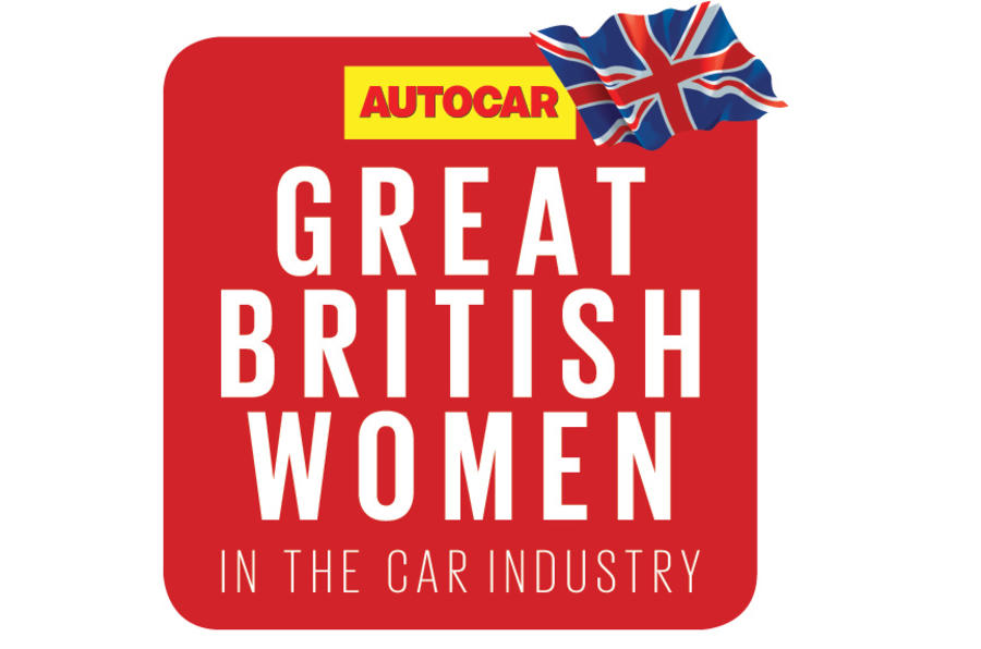 Autocar Great British Women in the Car Industry logo.
