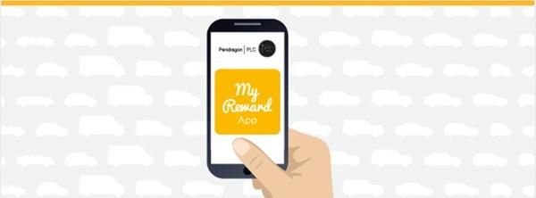 My Reward App graphic.