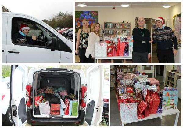 Pendragon Gives 'The Gift of Christmas'