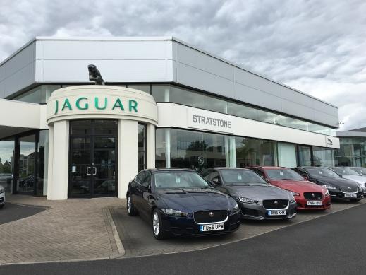 Stratstone Jaguar exterior.