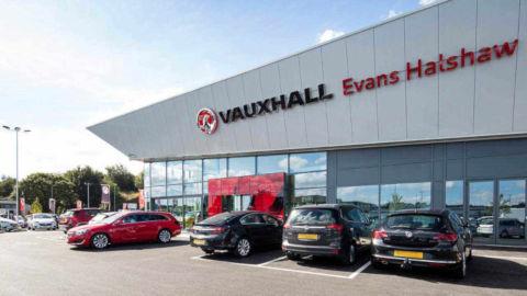 Evans Halshaw Vauxhall Leeds