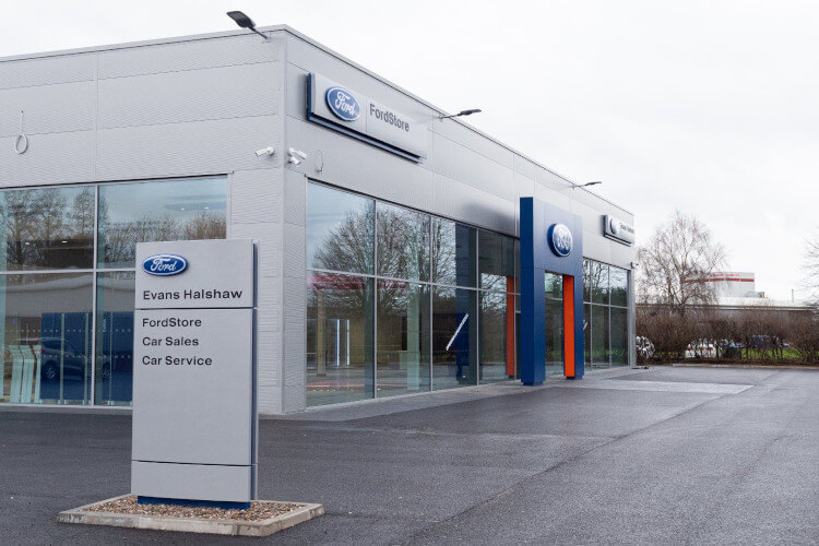 FordStore Chester Exterior
