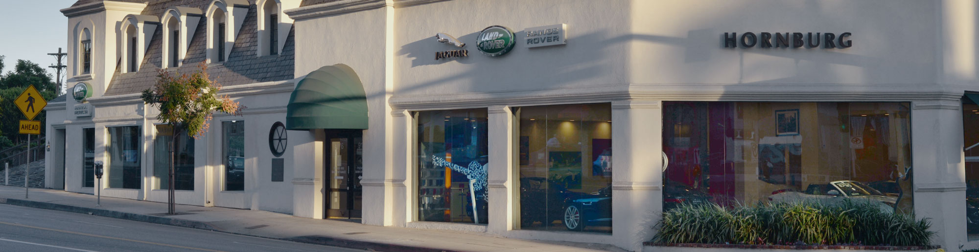 Jaguar, Land Rover and Range Rover franchise in South California.