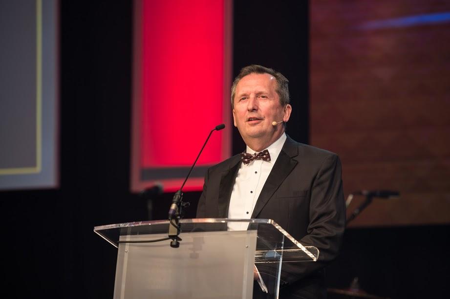 Trevor Finn, Chief Executive Officer Pendragon PLC Awards 2017.