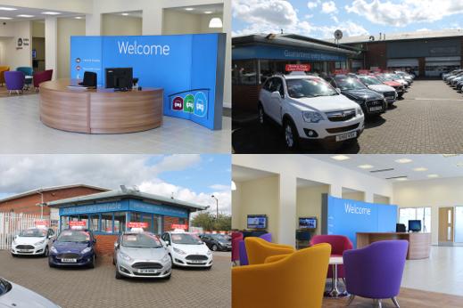 Birmingham Car Store interior and exterior.