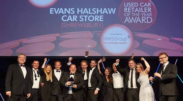 Evans Halshaw Car Store Shrewsbury employees