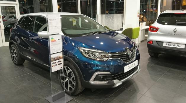 Renault showroom.