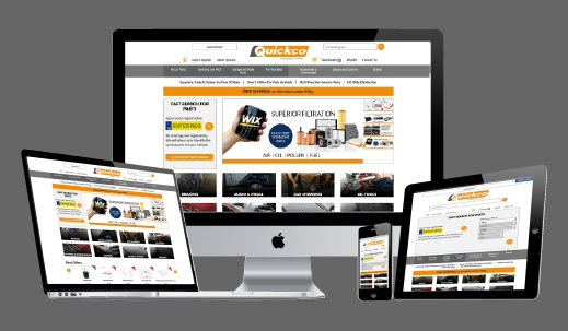 Quickco Car Parts Website Launch