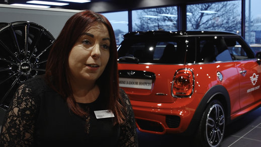 Sandra Domagala, Regional Director for Stratstone Mini.